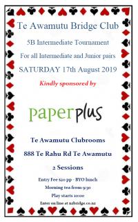Te Awamutu Intermediate this Saturday