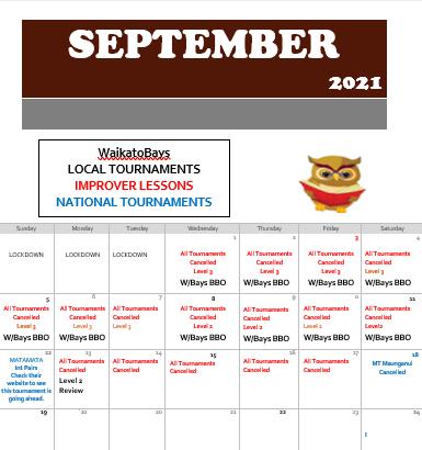 What's happening in September